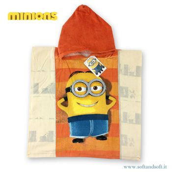 MINIONS RELAX Baby Bathrobe/Hooded Poncho