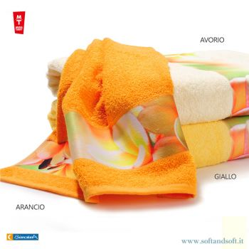 MISS TERRY LAIA Set 1 Face Towels + 1 Guest towels Biancaluna