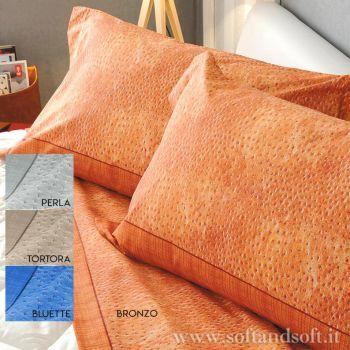 BOA Fabric sheet set for full size cm140 Bed BIANCALUNA