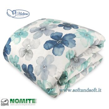 CLASSIC 522 V.8 Quilt for Single Bed 100% Eiderdown by MOLINA