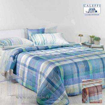 OXFORD Winter Quilted Calduccia for Double Bed by CALEFFI