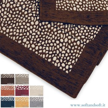 DERN 2 Carpets cm 65x110 Genius by BIANCALUNA