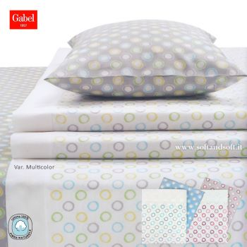 COLORFUL Sheet Set for King Size Bed GABEL