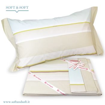 BAJADERA Sheet Set for Double Bed by LAURA BIAGIOTTI