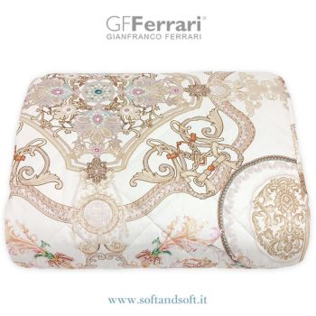PRIMAVERA 10A Geometric Quilted Bedcover for Double Bed by GFFerrari