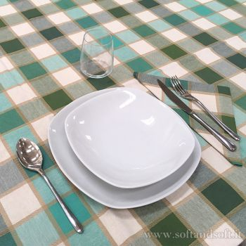 CAMPAGNOLA Tablecloth with 6 napikins cm 140x180 740626