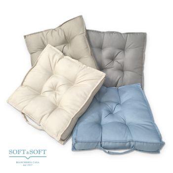 FUTON Cuscino Quadrato a materassino Antimacchia cm 40x40
