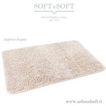 CAREZZA Tappeto Bagno Grande cm 65x140 100% Cotone Made in Italy
