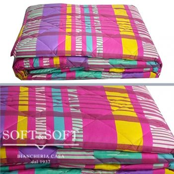 LEADER Quilted Bedcover for Three-quarter beds Gabel