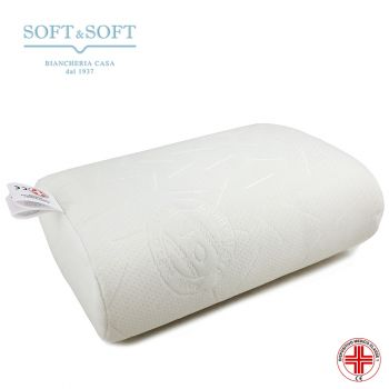 Cuscino da supporto lombare ideale per guidare o per chi ha bisogno di un sostegno alla schiena, bianco