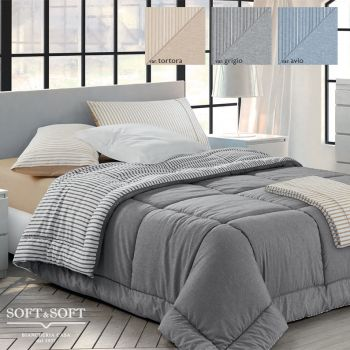 MARA Double Face Quilt for Single Bed by