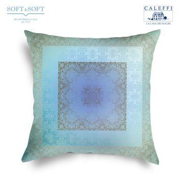 ALCOVA Cushion cm 60x60 Digital Print by CALEFFI