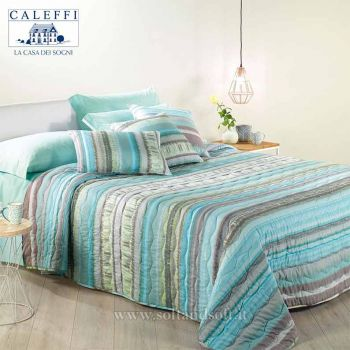 ODEON Microfibre Spring Quilted Bedcover for double bed CALEFFI