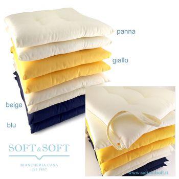 PENELOPE due cuscini con laccetti per sedia cucina