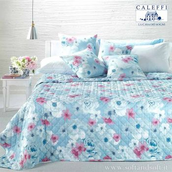 PETALI Quilted Bedcover for double beds Caleffi for summer Microfiber