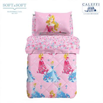 PRINCESS ROMANTICA Quilt for Single Bed Disney by CALEFFI