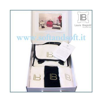 LAURA BIAGIOTTI GIFT - Beauty Case + 3 Lavette
