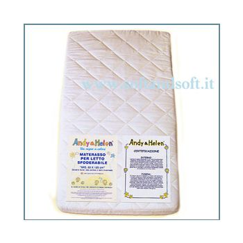 Mattress for baby bed removable