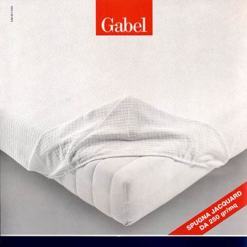 Towelling Mattress Cover for three quarter beds, Gabel