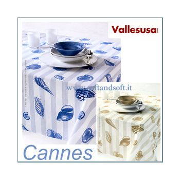 CANNES Table cloth for 6 cm 150x180 - Vallesusa
