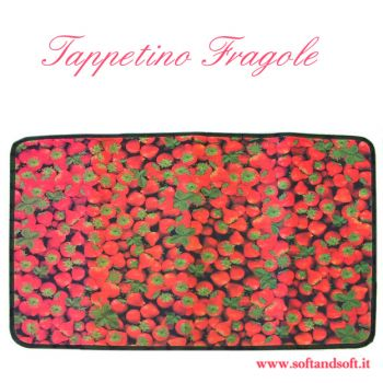 Fruit carpet cm 50x75 Strawberry