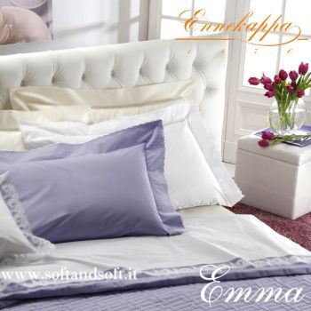 EMME Percalle Sheet Set for double bed by Ennekappa