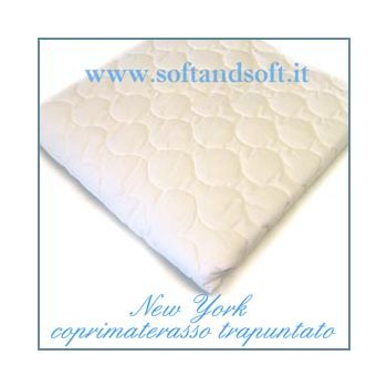 NEW YORK Quilted Mattress Protector for Three quarter bed