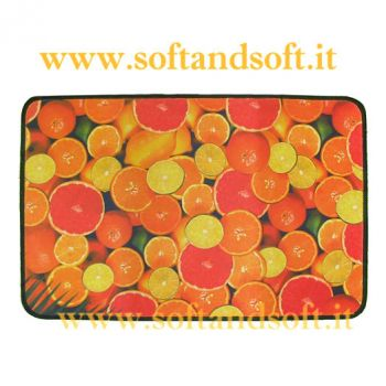 Fruit Carpet cm 70x75 Orange