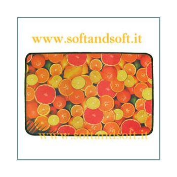 Fruit Carpet cm 70x75 Orange