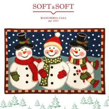 Per una perfetta atmosfera natalizia non può mancare il nostro Tappetino casa Natalizio, con fondo in gomma anti-scivolo. Bellissimo sia come zerbino, sia come tappetino vicino all'albero di natale per i regali.. e ovunque si voglia ricreare un piz