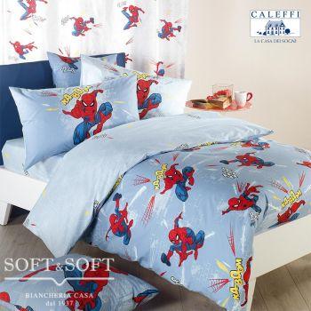 copripiumino stampato spider-man caleffi