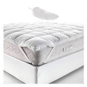 TOP MATTRESS DOWN Topper for double bed cm 160x200