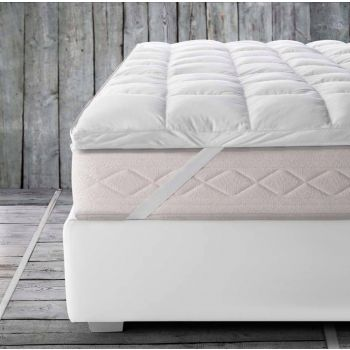 TOP MATTRESS sopra materasso matrimoniale comfort 5 stelle 200x200 KING