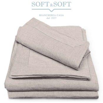 AMBRA Flax-Cotton DUVET COVER GF FERRARI - under sheet flat