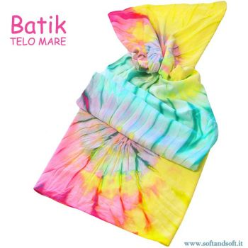 BATIK Towel  Pareo 90x160 cm (Micro Towel) Yellow