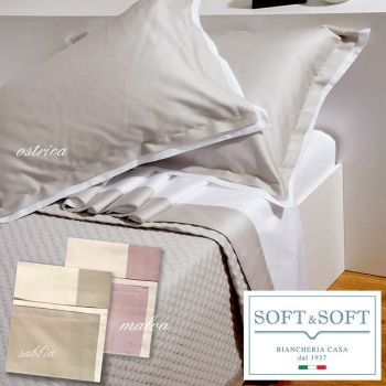 COCO Satin Sheet Set for KING Bed Cotton Satin 200X200+30