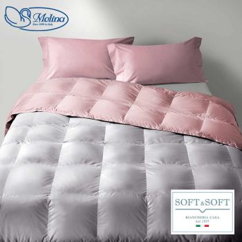 CLASSIC UNITO v.205 Quilt for Single Bed 100% Goose-Down by MOLINA
