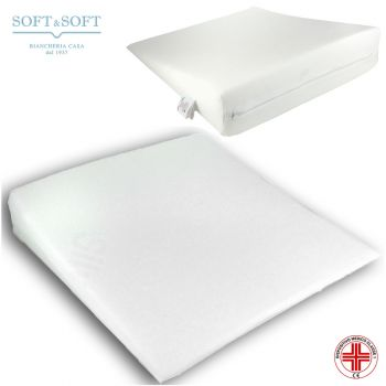cuscino antireflusso o supporto gambe a sezione triangolare