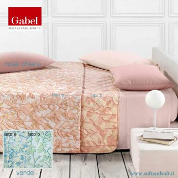 Fil Rouge Quilted Double Face bedcover for double bed GABEL