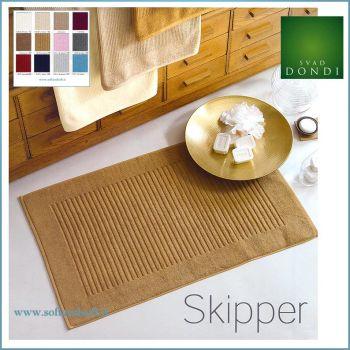 SKIPPER Tappeto Bagno cm 60X100 in puro cotone con Antiscivolo