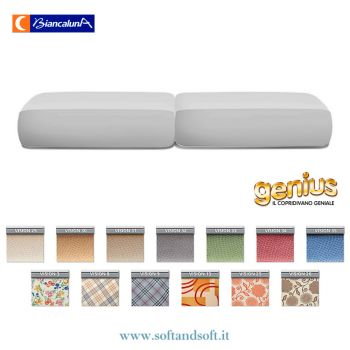Genius 4D Stretch Cushion Cover Set MAXI Vision Biancaluna stain proof