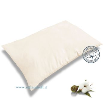 NATURE Pillow fabric and padding in Pure Cotton