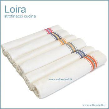 Loira dish cloth for kitchen cm 60x100 (6 pcs) wide size