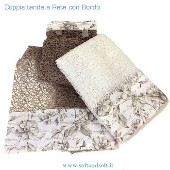 RETE Pair Curtain 60x150 cm NET