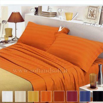 VIENNA Satin sheet set for single beds