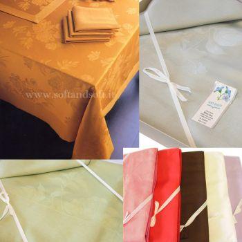 ASSISI Table cloth 12 cm 180x270 Linen Blend ARMONIA TESSILE