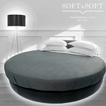 ROTONDO Soffio fitted sheet for round bed
