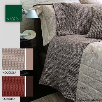 BOULEVARD Sheet Set for Double Bed Cotton Satin SVAD DONDI