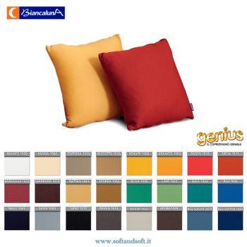 fodere cuscino divano antimacchia tinta unita colorate
