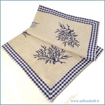 SMERALDA  tablecloth cm 90x90 for Tea